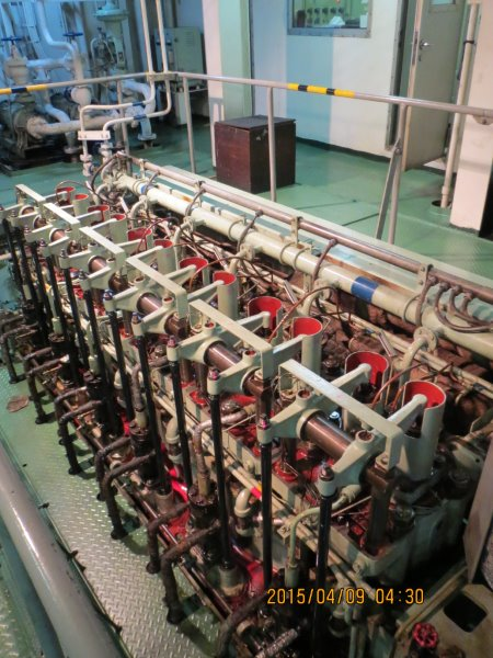 Cargo Ship Engine Room: 2200 DWT Used General Cargo Ship For Sale